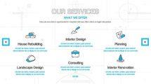 پروژه افترافکت پرزنتیشن شرکت معماری Architect Company Presentation