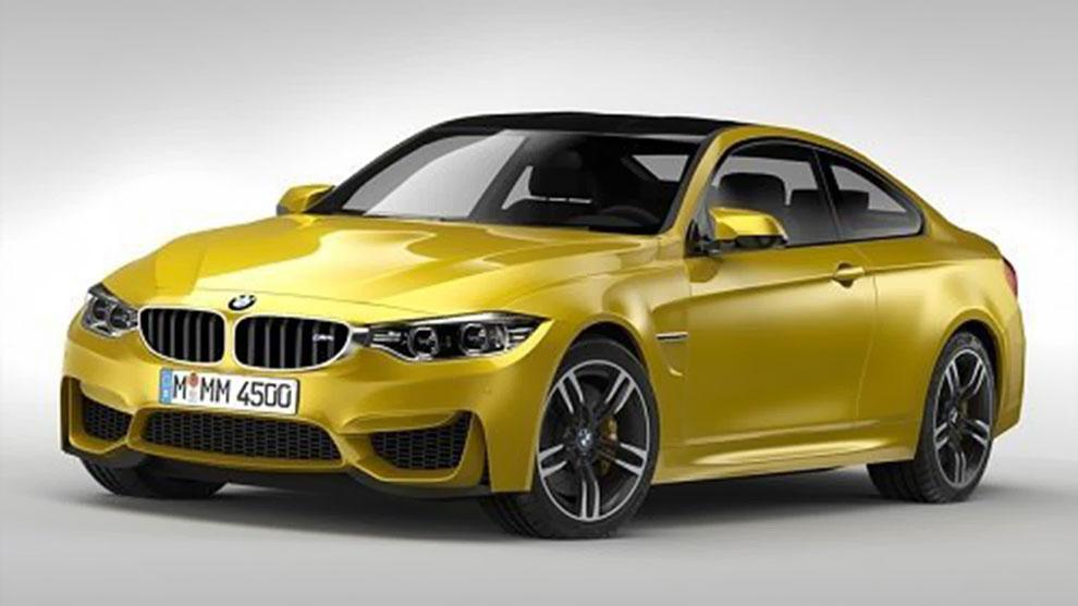 مدل سه بعدی خودرو بی ام و BMW M4 Coupe F32 2015