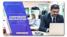 پروژه افترافکت پرزنتیشن اسلایدشو شرکتی Corporate Presentation Slideshow