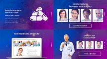 پروژه افترافکت تیزر تبلیغاتی دکتر و کلینیک Doctor and Healthcare Clinic Promotion