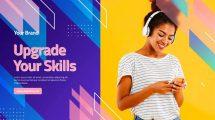 پروژه افترافکت اسلایدشو آموزشی Education Slideshow