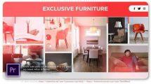 پروژه افترافکت پرزنتیشن لوازم منزل Exclusive Interiors Presentation