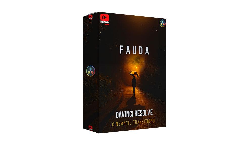 مجموعه پریست ترانزیشن برای داوینچی Fauda DaVinci Resolve Transitions