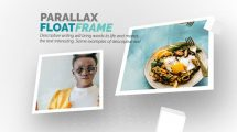 پروژه افترافکت اسلایدشو عکس Float Frame Slideshow