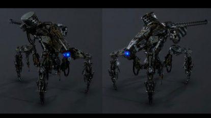 مدل سه بعدی ربات جنگی Horizon Zero Dawn Corruptor