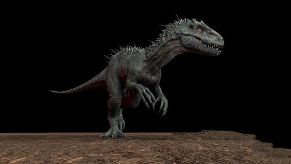 مدل سه بعدی دایناسور Indominus Rex 2