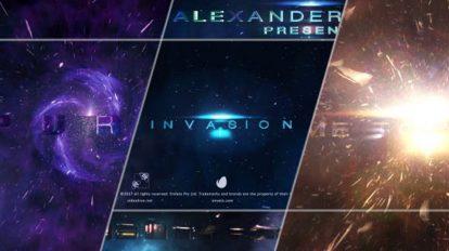 پروژه افترافکت تریلر سینمایی Invasion Trailer