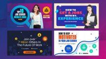 پروژه افترافکت اسلایدشو جستجو کار Jobs Search Slideshow