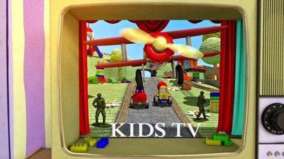 پروژه افترافکت نمایش لوگو برنامه کودک Kids TV