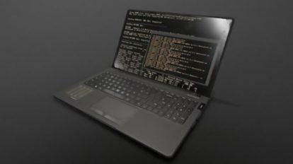 مدل سه بعدی لپ تاپ Laptop