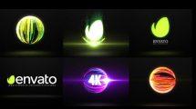 پروژه افترافکت نمایش لوگو با افکت نور Light Logo Reveal