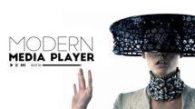 پروژه افترافکت پخش کننده موزیک Modern Media Player
