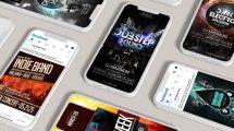 پروژه افترافکت تیزر تبلیغاتی کنسرت موسیقی Music Event Banner Ad
