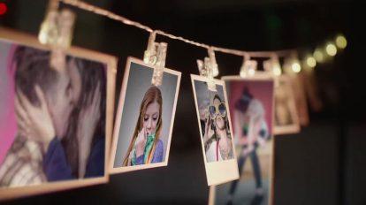 پروژه افترافکت نمایش تصاویر خاطره انگیز Polaroid Memories