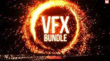 پروژه افترافکت مجموعه انیمیشن پرتال Portal Logo VFX Bundle