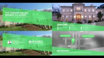 پروژه افترافکت گالری مشاور املاک Real Estate Gallery
