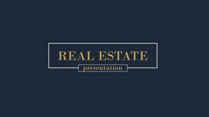 پروژه افترافکت پرزنتیشن مشاور املاک Real Estate Promotion