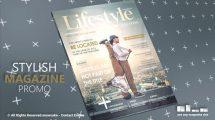 پروژه افترافکت تیزر تبلیغاتی مجله Stylish Magazine Promo