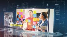 پروژه افترافکت اسلایدشو شرکت فناوری Tech Company Slideshow