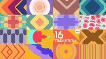 پروژه افترافکت مجموعه ترانزیشن Transition Package