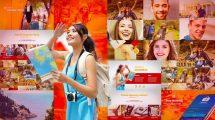 پروژه افترافکت تیزر تبلیغاتی گردشگری Travel Booking Promo