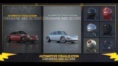 آموزش ساخت رندر نمایش خودرو Automotive Visualization