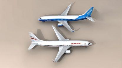 مجموعه مدل سه بعدی بویینگ CM Boeing