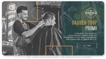 پروژه افترافکت تیزر تبلیغاتی آرایشگاه Barber Shop XO