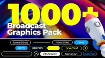 پروژه افترافکت برودکست خبری Broadcast News Ultra Pack