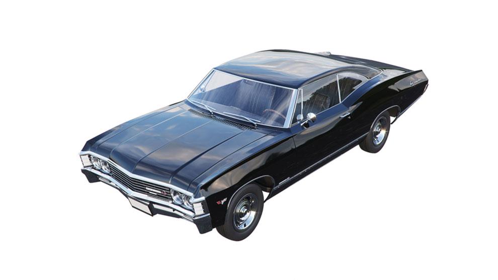مدل سه بعدی خودرو شورلت ایمپالا Chevrolet Impala 67