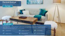 پروژه افترافکت اسلایدشو مشاور املاک Clean Real Estate Slideshow