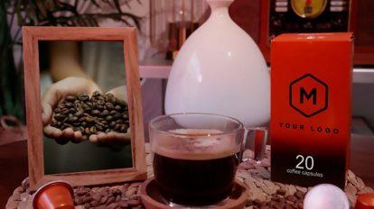 پروژه افترافکت اسلایدشو و تیزر تبلیغاتی قهوه Coffee Product Promo