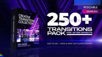 پروژه افترافکت مجموعه ترانزیشن Transitions Pack