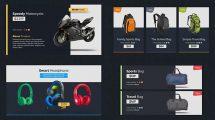 پروژه افترافکت تیزر تبلیغاتی اعلام تخفیف محصولات Discount Store Universal