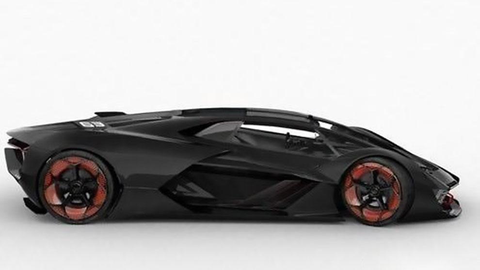 مدل سه بعدی خودرو لامبورگینی Lamborghini Terzo Millenio
