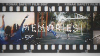 پروژه افترافکت اسلایدشو فیلم Memories Vintage Film Slideshow