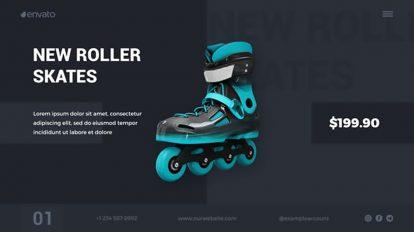 پروژه افترافکت تیزر تبلیغاتی مینیمال محصولات Minimal Product Promo