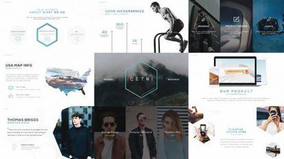 پروژه افترافکت پرزنتیشن مینیمال Minimal Promo Presentation