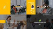 پروژه افترافکت تیزر تبلیغاتی آموزش آنلاین Online Education Promo