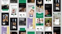 پروژه افترافکت مجموعه استوری فروشگاه آنلاین Online Shop Stories