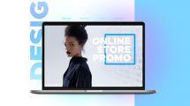 پروژه افترافکت تیزر تبلیغاتی فروشگاه آنلاین Online Store Promo