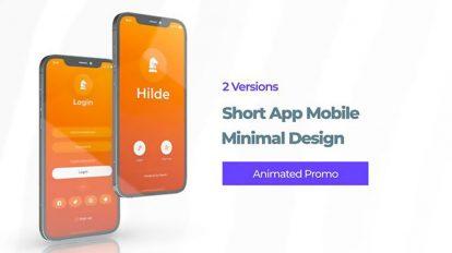 پروژه افترافکت تیزر تبلیغاتی اپلیکیشن Phone 12 App Promo