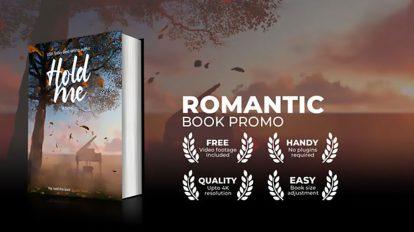 پروژه افترافکت تیزر تبلیغاتی کتاب رمان عاشقانه Romantic Book Promo