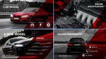 پروژه افترافکت پرزنتیشن فروشنده خودرو اسپرت Sport Car Salon Presentation