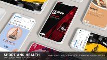 پروژه افترافکت تیزر تبلیغاتی ورزشی Sport Health Instagram Promo