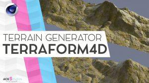 پلاگین سینمافوردی Terraform4D ابزار ساخت سطح زمین
