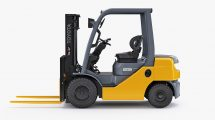 مدل سه بعدی ماشین انبار Toyota Forklift