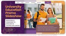 پروژه افترافکت تیزر تبلیغاتی مرکز آموزشی University Education Promo