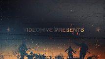 پروژه افترافکت تایم لاین با موضوع جنگ War Project Timeline
