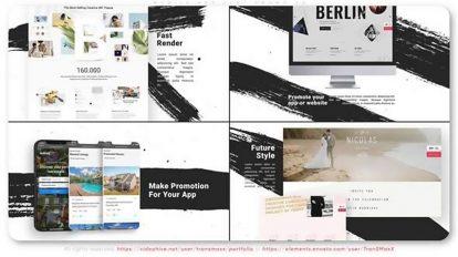 پروژه افترافکت تیزر تبلیغاتی وبسایت Universal Website Promotion